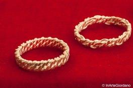 Anello fili metallici intrecciati 5