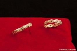 Anello fili metallici intrecciati 6