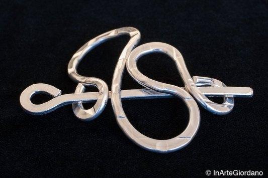 Fermacapelli filo metallo 5